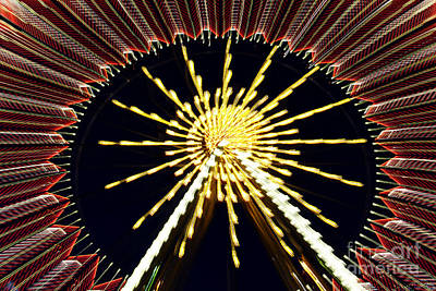 Photograph - Ferris Wheel by Iryna Liveoak