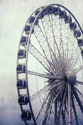 Funfair Photograph - Ferris Wheel by Joana Kruse