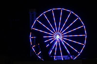 Photograph - Ferris Wheel by John Wartman