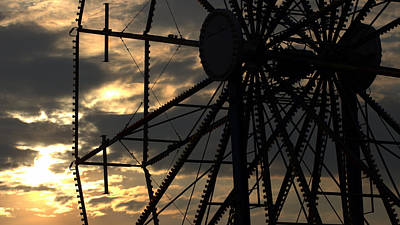 Photograph - Ferris Wheel by Joseph Skompski