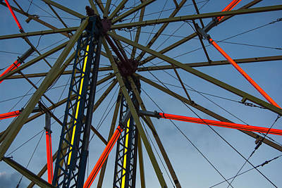 Wall Art - Photograph - Ferris Wheel by Maureen Janson Heintz