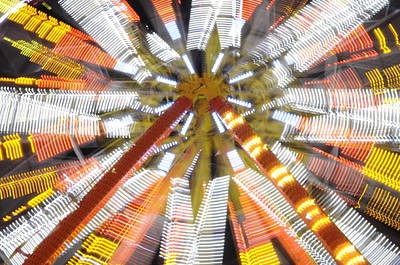 Photograph - Ferris Wheel by Michael Raiman