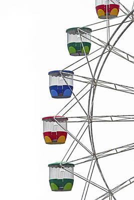 Photograph - Ferris Wheel No. 20-1 by Sandy Taylor