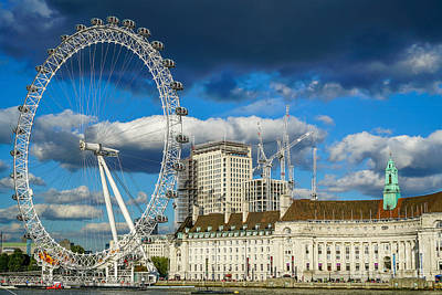 Europe Wall Art - Photograph - Ferris Wheel by Ric Schafer