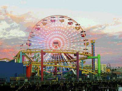 Photograph - Ferris Wheel by Richard Mann