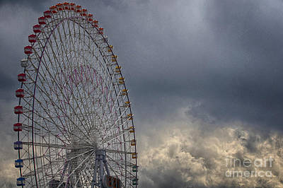 Photograph - Ferris Wheel by Tad Kanazaki