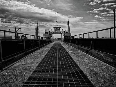 Photograph - Ferry Boat by Bob Orsillo