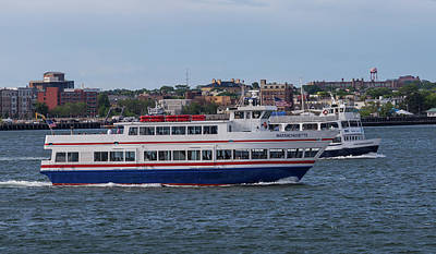 Photograph - Ferry Boat Massachusetts by Brian MacLean