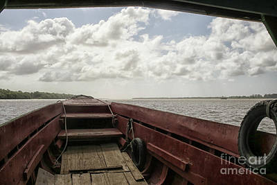 Photograph - Ferry Boat On The Suriname River by Patricia Hofmeester