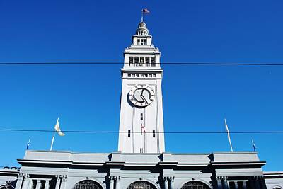 Photograph - Ferry Building Marketplace - San Francisco Embarcadero by Matt Harang