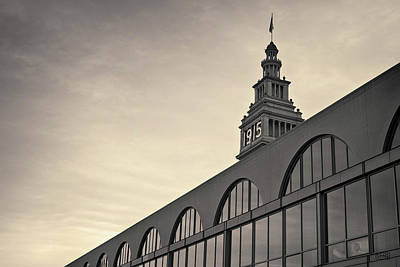 Ferry Building San Francisco I Toned Art Print by David Gordon