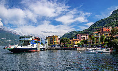 Photograph - Ferry Dock In Varenna by Carolyn Derstine