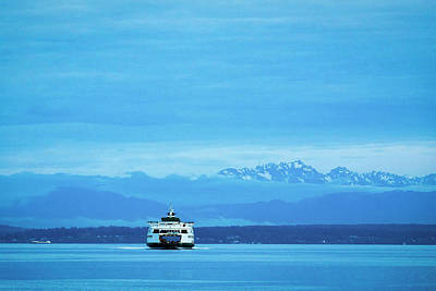 Photograph - Ferry by Evgeny Vasenev