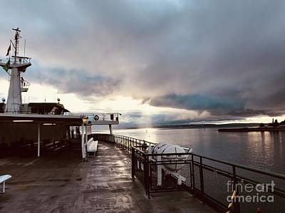 Photograph - Ferry Morning by LeLa Becker