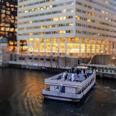 Art Print featuring the photograph Ferry Ride by Ron Dubin