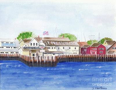 Painting - Ferry To Greenport by Sheryl Heatherly Hawkins