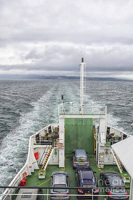 Photograph - Ferry To The Isle Of Skye, Scotland by Patricia Hofmeester