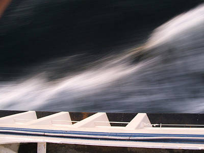 Art Print featuring the photograph Ferry Wash by Mark Alan Perry