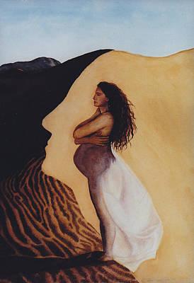 Fertile Desert Original by Sheila Preston-Ford