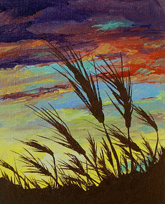 Painting - Fertile Fields by Sandy Tracey