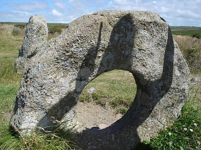 Photograph - Fertility 2 - Men-an-tol Standing Stones by Elena Schaelike