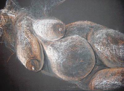 Fertility Drawing - Fertility Goddess II by Bonnie Peacher