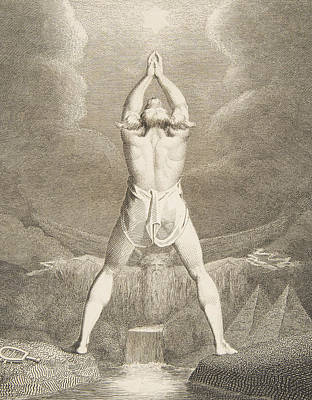 Fertilization Relief - Fertilization Of Egypt by William Blake