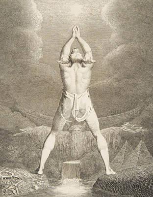 Fertilization Relief - Fertilization Of Egypt by William Blake