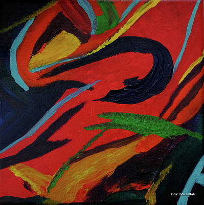 Painting - Festiva by Dick Bourgault