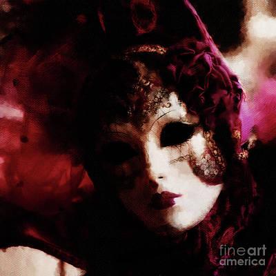 Venice Painting - Festival 04c by Qazi