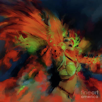 Festival Dance 001 Original by Gull G