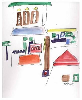 Festival In The City  1 Art Print by B L Qualls