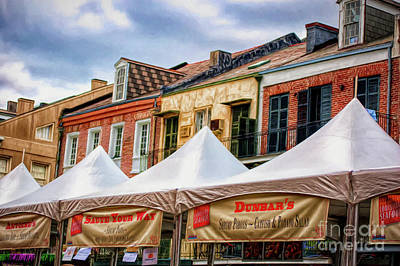 Photograph - Festival New Orleans Seafood - French Quarter by Kathleen K Parker