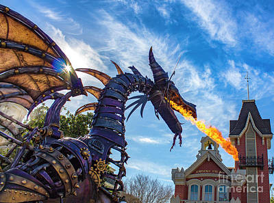 Photograph - Festival Of Fantasy Dragon by Luis Garcia