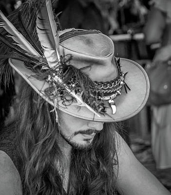 Photograph - Festival Performer by James Woody