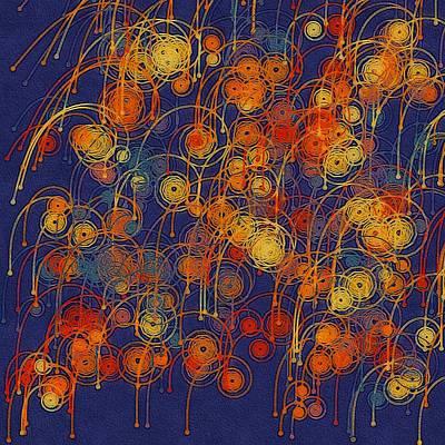 Digital Art - Festival by Susan Maxwell Schmidt