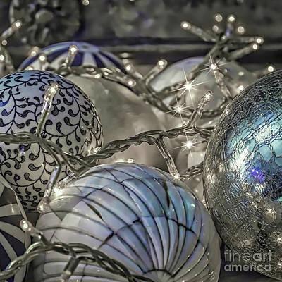 Photograph - Festive Balls. by Eleni Mac Synodinos