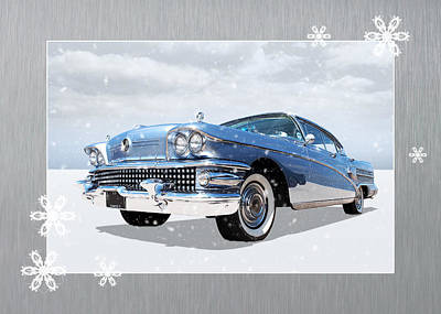 Photograph - Festive Buick Roadmaster by Gill Billington