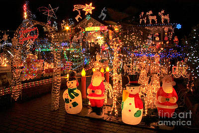 Photograph - Festive Display by Frank Townsley