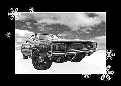 Photograph - Festive Dodge Charger by Gill Billington