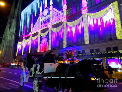 Photograph - Festive Fifth Ave by Ed Weidman