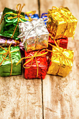 Giving Photograph - Festive Greeting Gifts by Jorgo Photography - Wall Art Gallery