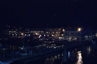 Photograph - Festive Harbor Lights by Margie Avellino