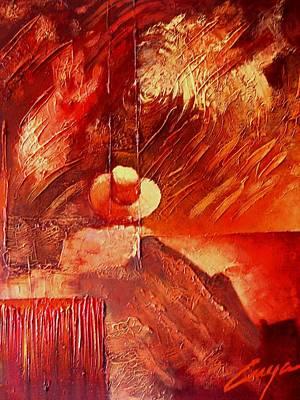 Painting - Festive II by Victor Cuya