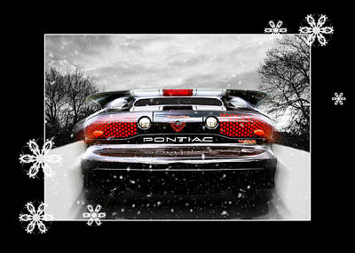 Photograph - Festive Pontiac Trans Am by Gill Billington
