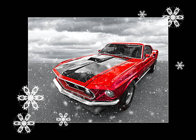 Photograph - Festive Red Cobra Jet by Gill Billington