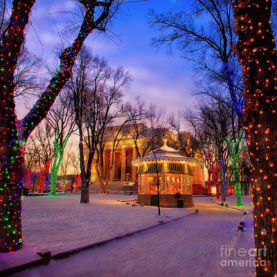 Photograph - Festive Square by Scott Kemper