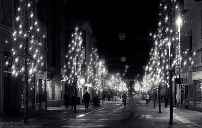 Photograph - Festive Street by Beverly Cash