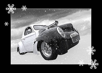 Photograph - Festive Willys by Gill Billington