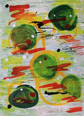 Painting - Festivity Balls by April Burton